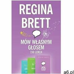Pakiet: Mów własnym głosem/Kochaj/Jesteś cudem - Regina Brett - książka - ogłoszenia A6.pl