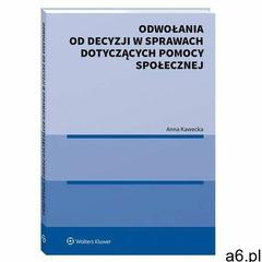 Odwołania od decyzji w sprawach dotyczących... Kawecka Anna, Świtała Krzysztof, Tymorek Krystyna - ogłoszenia A6.pl