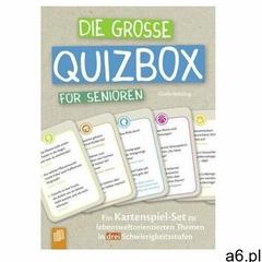 Die große Quizbox für Senioren (Kartenspiel) Mötzing, Gisela - ogłoszenia A6.pl