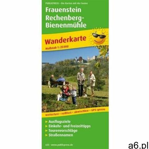 PublicPress Wanderkarte Frauenstein - Rechenberg-Bienenmühle (9783899206333) - 1