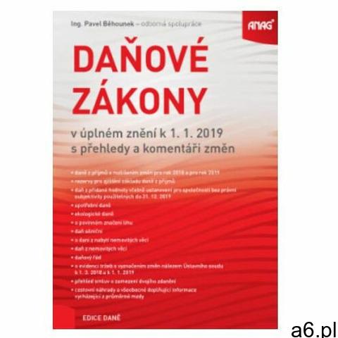 Daňové zákony v úplném znění k 1. 1. 2019 s přehledy a komen - 1
