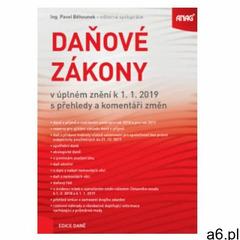 Daňové zákony v úplném znění k 1. 1. 2019 s přehledy a komen - ogłoszenia A6.pl