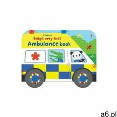 Baby\'s Very First Ambulance Book Fiona Watt - ogłoszenia A6.pl
