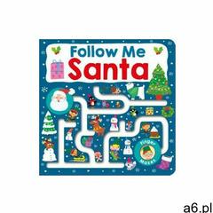 Maze Book: Follow Me Santa Priddy, Roger - ogłoszenia A6.pl