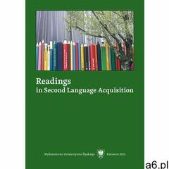 Readings in Second Language Acquisition (9788322623275) - ogłoszenia A6.pl