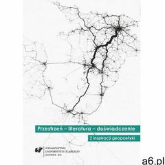 Przestrzeń - literatura - doświadczenie (9788380128477) - ogłoszenia A6.pl