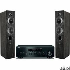 Zestaw stereo YAMAHA R-N402D BL + INDIANA LINE Tesi 561 Czarny - ogłoszenia A6.pl