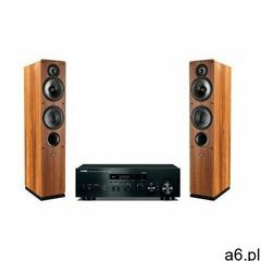 Zestaw stereo YAMAHA R-N402D BL + INDIANA LINE Tesi 561 Orzech - ogłoszenia A6.pl