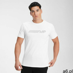 Mp men's outline graphic short sleeve t-shirt - white - l - ogłoszenia A6.pl