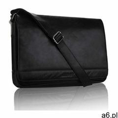 Czarna torba męska na ramię miejska, kolor czarny - ogłoszenia A6.pl
