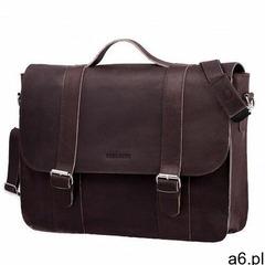 Skórzana torba na ramię Brodrene BL11XL ciemny brąz listonoszka - ogłoszenia A6.pl