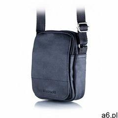 Czarna listonoszka torba na ramię brodrene bl04, kolor czarny - ogłoszenia A6.pl
