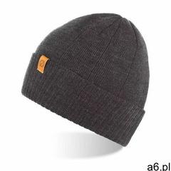 Zimowa czapka młodzieżowa mulina cz8-dgr, kolor szary - ogłoszenia A6.pl