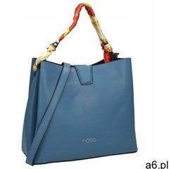 Torebka shopper bag z apaszką nobo niebieska 1970 - ogłoszenia A6.pl