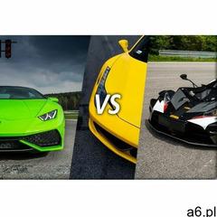 Lamborghini Huracan vs Ferrari Italia vs KTM X-BOW: Ilość okrążeń - 9, Tor - Tor Kielce – Miedziana  - ogłoszenia A6.pl