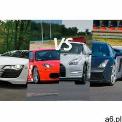 Audi r8 vs ferrari f430 vs lamborghini gallardo vs nissan gtr: ilość okrążeń - 12, tor - tor poznań  - ogłoszenia A6.pl
