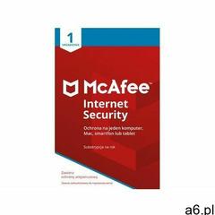 MCAFEE Internet Security 1 urządzenie 1 rok - ogłoszenia A6.pl