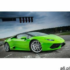 Jazda na miejscu pasażera Lamborghini Huracan dla dziecka: Ilość okrążeń - 1, Tor - Tor Warszawa Bem - ogłoszenia A6.pl