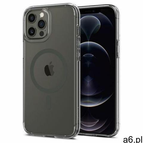Spigen Etui ultra hybrid mag magsafe do apple iphone 12 pro max grafitowy - 1