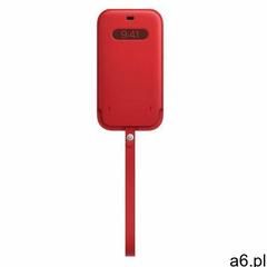 Apple skórzany pokrowiec z MagSafe do iPhone'a 12mini, czerwony MHMR3ZM / A - ogłoszenia A6.pl