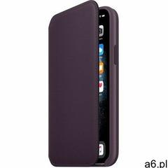 skórzana obudowa iphone 11 pro folio, aubergine mx072zm/a marki Apple - ogłoszenia A6.pl