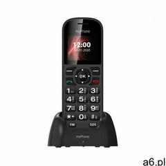 Telefon MYPHONE Soho Line H22 + etui Czarny (5902983611813) - ogłoszenia A6.pl