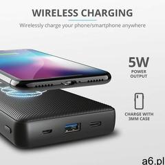 Trust primo wireless charging powerbank 20000 mah (8713439235654) - ogłoszenia A6.pl