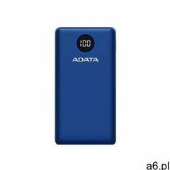 ADATA POWERBANK P20000QCD BLUE - AP20000QCD-DGT-CDB- Zamów do 16:00, wysyłka kurierem tego samego dn - ogłoszenia A6.pl