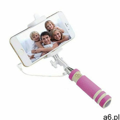 Selfie Stick Mini z Wyzwalaczem VIS - Różowy - ogłoszenia A6.pl