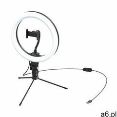 Statyw Baseus Livestream holder-table, obręcz świetlna 10'' (czarny) (6953156227330) - ogłoszenia A6.pl
