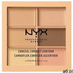 Nyx professional makeup korektory nyx professional makeup korektory conceal, correct, contour palett - ogłoszenia A6.pl