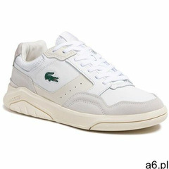 Sneakersy LACOSTE - Game Advance Luxe721 Sma 7-41SMA001565T Wht/Off Wht, kolor biały - ogłoszenia A6.pl