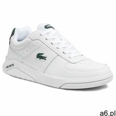 Sneakersy LACOSTE - Game Advance 0721 2 Sma 7-41SMA00581R5 Wht/Dk Grn - ogłoszenia A6.pl