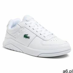 Sneakersy LACOSTE - Game Advance 0721 4 Sma 7-41SMA008721G Wht/Wht - ogłoszenia A6.pl
