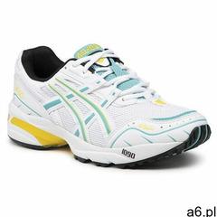 Sneakersy ASICS - Gel-1090 1021A275 White/Techno Cyan 108 - ogłoszenia A6.pl