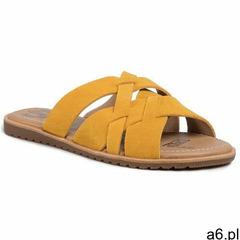 Klapki SOREL - Ella Slide NL3539-705 Golden Yellow 705 - ogłoszenia A6.pl