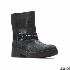 Botki Imac 83230 Czarne, kolor czarny - ogłoszenia A6.pl