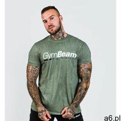 GymBeam Koszulka Body and Mind Heather Green, kolor zielony - ogłoszenia A6.pl