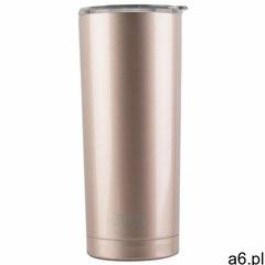 BUILT Vacuum Insulated Stalowy kubek termiczny z izolacją próżniową 0,6 l (Rose Gold), kolor stalowy - ogłoszenia A6.pl