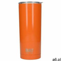 Built vacuum insulated tumbler - stalowy kubek termiczny z izolacją próżniową 0,6 l (orange) - ogłoszenia A6.pl