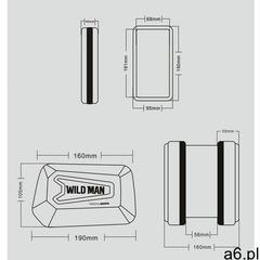 Sakwa do roweru WILDMAN HARDPOUCH BIKE MOUNT XL czarna - ogłoszenia A6.pl