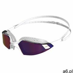 speedo Aquapulse Pro Mirror Okulary pływackie, white/clear/purple gold 2020 Okulary do pływania (505 - ogłoszenia A6.pl
