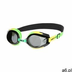 Okulary pływackie NILS AQUA 1200 AF Zielono-żółty - ogłoszenia A6.pl