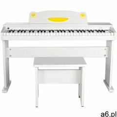 fun-1 white - pianino cyfrowe dla dzieci marki Artesia - ogłoszenia A6.pl