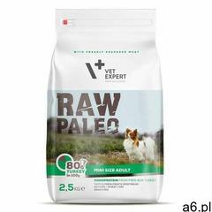 Vetexpert adult mini 2,5kg marki Raw paleo - ogłoszenia A6.pl