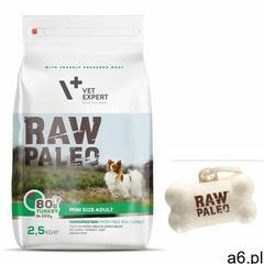 Raw paleo Vet expert adult mini 2,5kg + gratis - ogłoszenia A6.pl