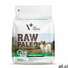 Vet Expert Raw Paleo Adult Mini 750g - ogłoszenia A6.pl