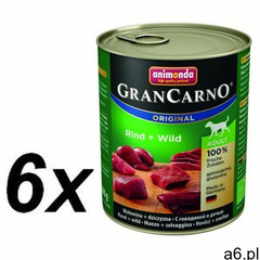 Animonda GranCarno Adult Rind Wild Wołowina + Dziczyzna puszka 800g, MLS-1138 - ogłoszenia A6.pl