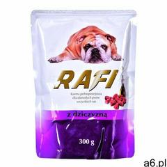 Rafi pies dziczyzna saszetka 300g (5902921301356) - ogłoszenia A6.pl