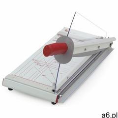 Metalowa gilotyna biurowa A4 z ręcznym systemem docisku papieru tnąca do 24 kartek - ★ Rabaty ★ Pora - ogłoszenia A6.pl
